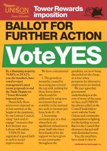 Vote Yes Leaflet - Front